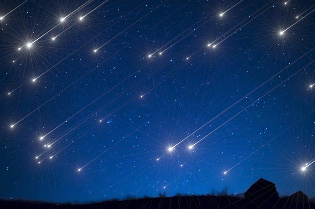 leonidi 1024x679 - Le Leonidi, le stelle cadenti di novembre