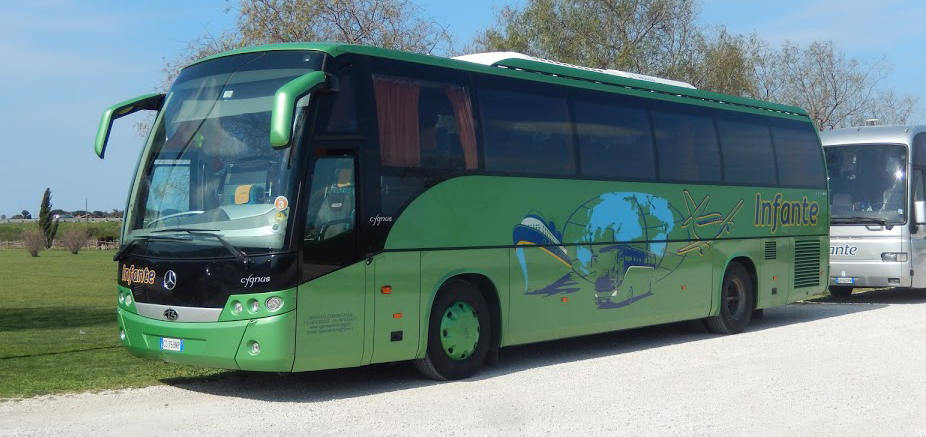 infante - Palinuro, stabilimenti balneari in autobus dalla stazione di Pisciotta