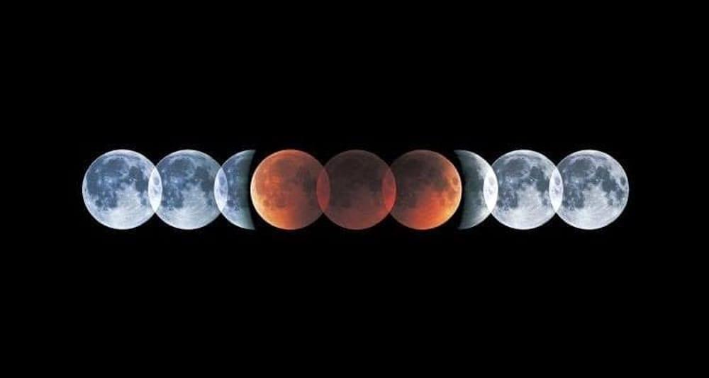 Eclissi lunare luglio 2019: le info per immortalarla