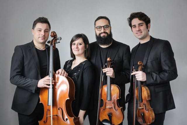 Quartetto Felix - Camerota, il Quartetto Felix  presenta la musica da camera al Convento dei Cappuccini