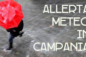 La Protezione Civile della Regione Campania ha prorogato l'avviso di allerta meteo