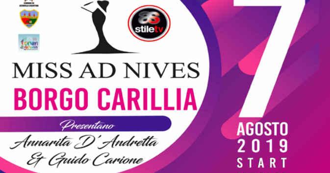 Altavilla Silentina, concorso di bellezza 'Miss Ad Nives' – 7 agosto 2019