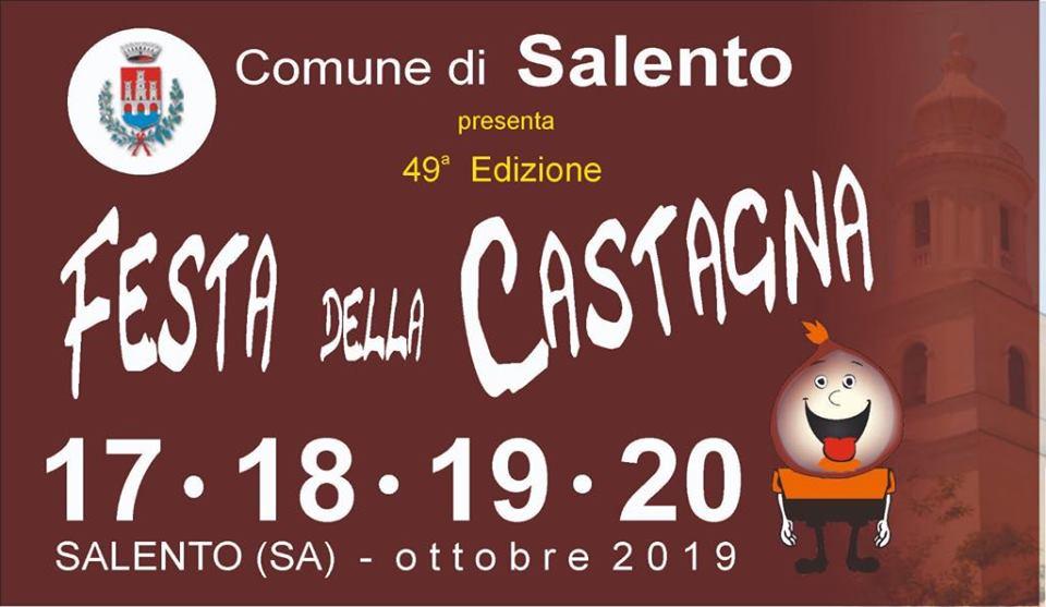 Salento, 49° Festa della Castagna – dal 17 al 20 Ottobre 2019
