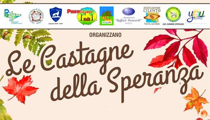 Rofrano, Le Castagne della Speranza – 1 Novembre 2019