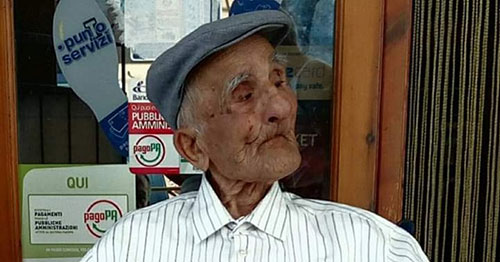 Pietro Ferrazzano 106 anni - Pietro Ferrazzano compie 106 anni: Cilento in festa