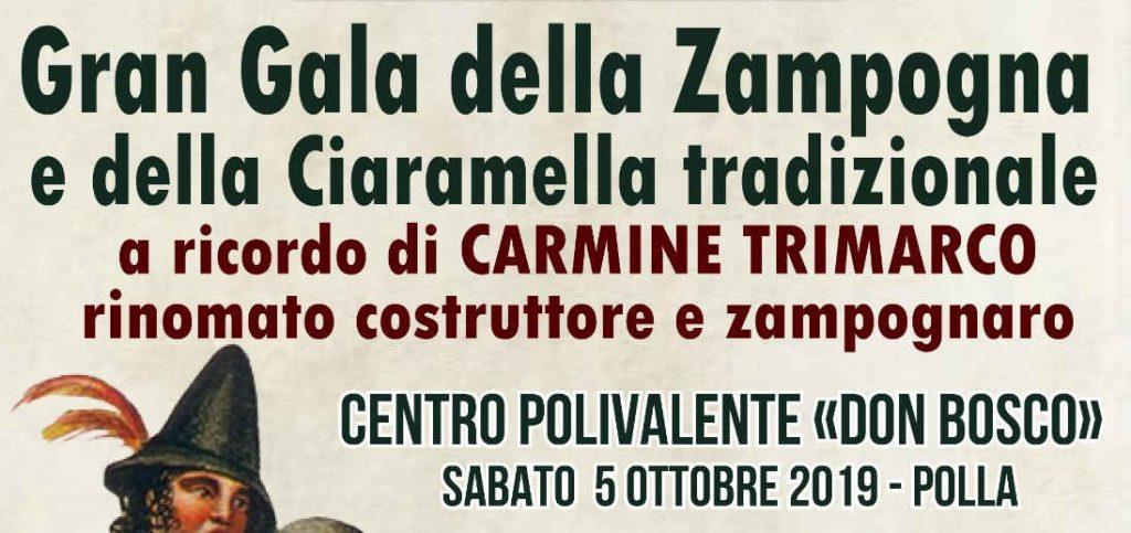 """""""Gran Galà della Zampogna e della Ciaramella tradizionale a ricordo di Carmine Trimarco"""""""