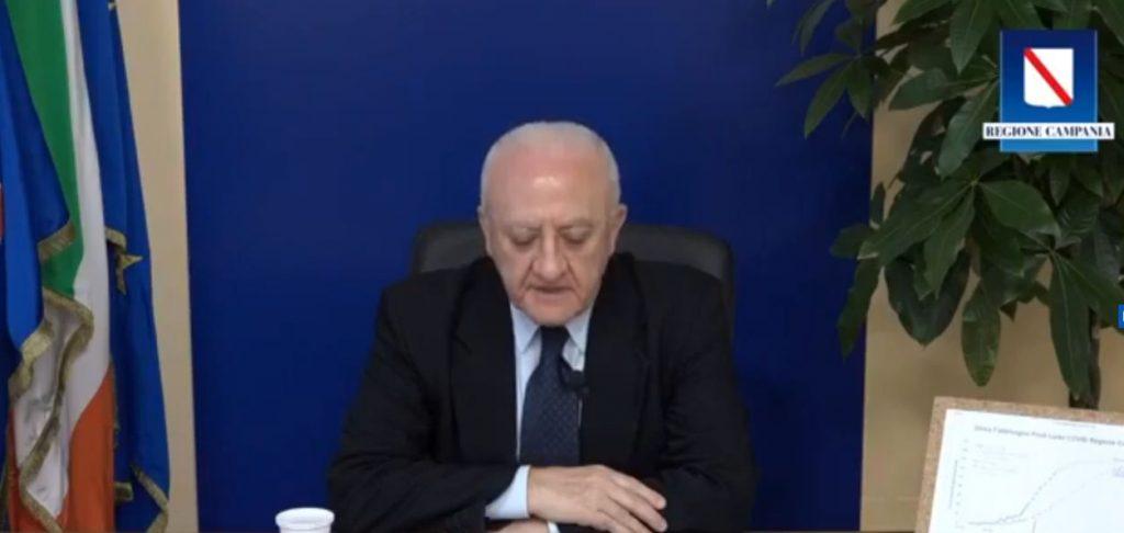 """REPTV – De Luca """"Dichiarazioni di Agnelli penose, e se si fosse contagiato Ronaldo?"""" – VIDEO"""