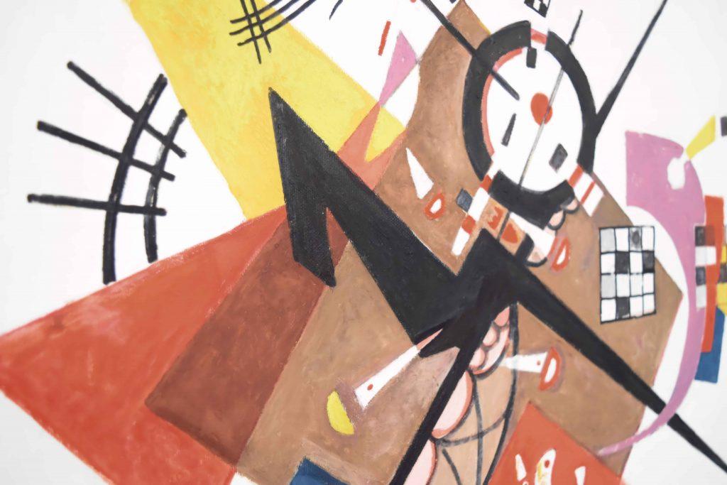 Covid, distanze e geometrie, ci aiuta Kandinsky: il punto di vista di renatinsky dj