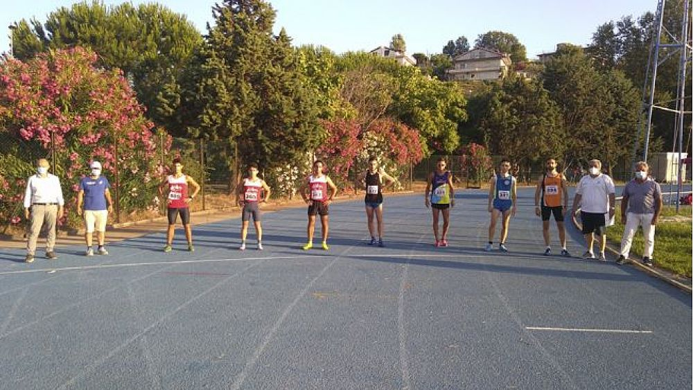 Atletica Agropoli in visita al Palaindoor di Ancona