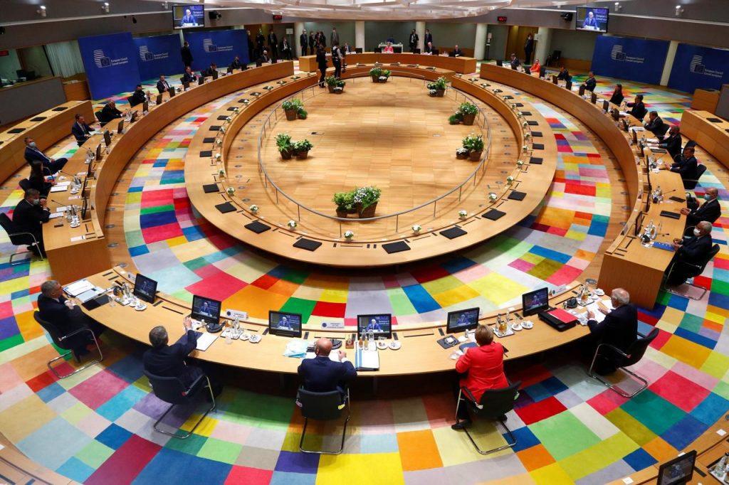 """Vertice UE: """"Leader discutono di governance, taglia Mff e Recovery"""""""