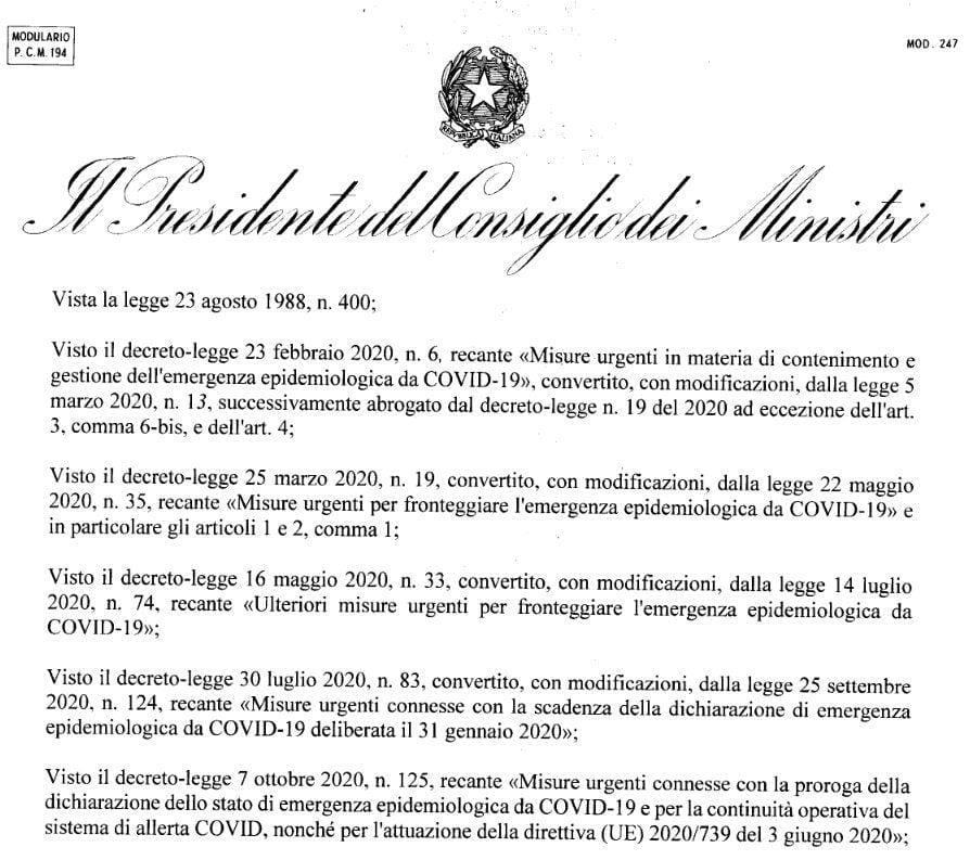 pdf dpcm - Nuovo decreto Covid, zona rossa, spostamenti e Dpcm in arrivo: le misure