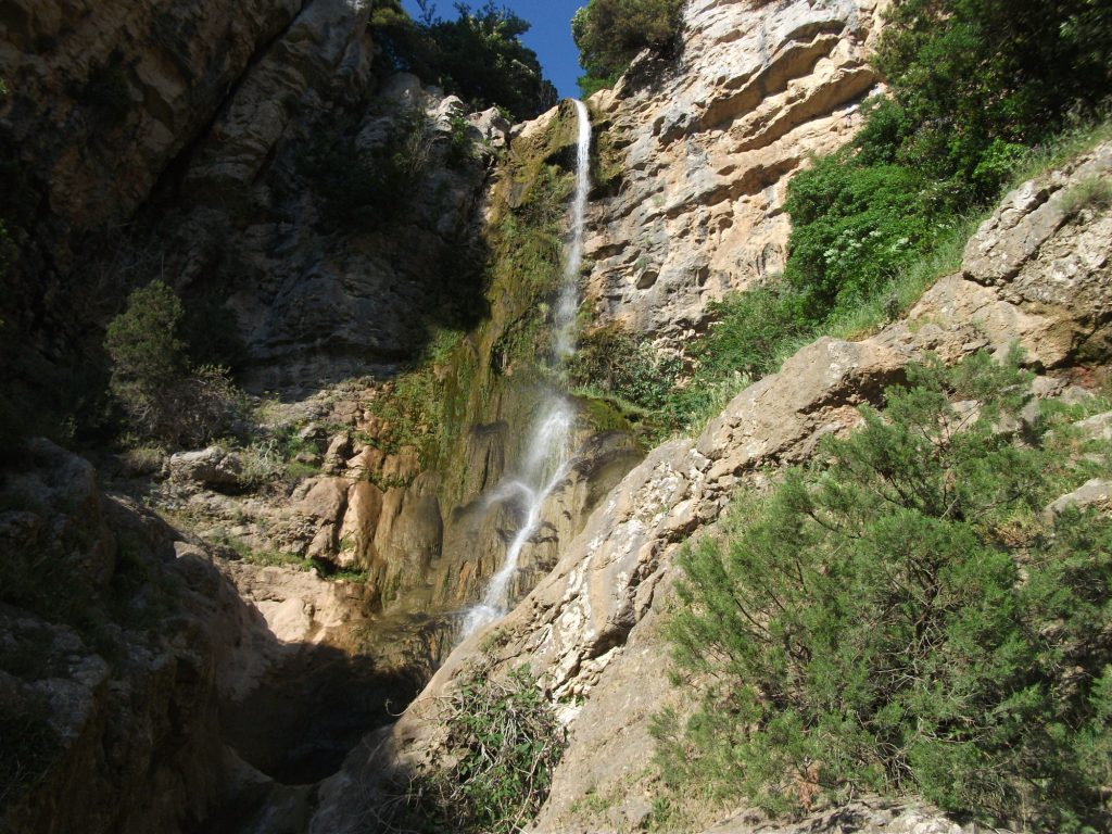 Il puzzle della domenica: la cascata del Solofrone a Giungano