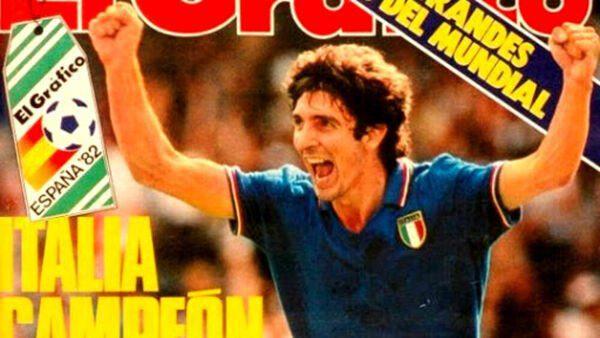 E' morto l'eroe del mundial 82: Paolo Rossi