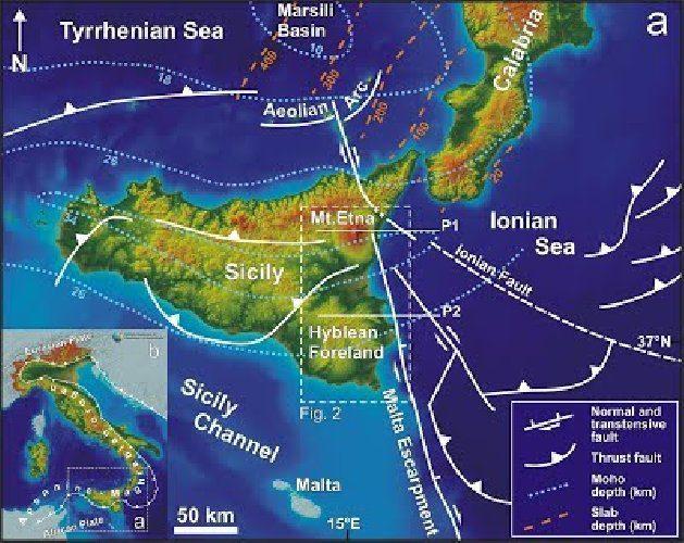 Terremoto lungo la faglia del Mediterraneo