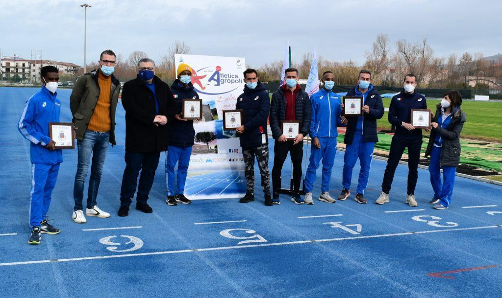 La Nazionale di Atletica di mezzofondo in raduno ad Agropoli – video