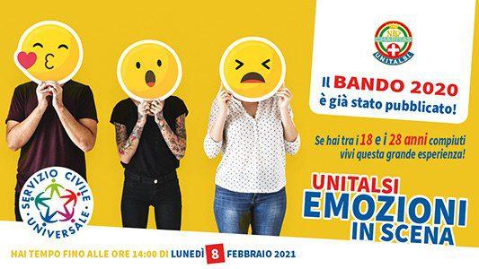 banner serviziocivile2020 533x300px 16 9 - Salerno, Unitalsi: bando per 10 posti servizio civile