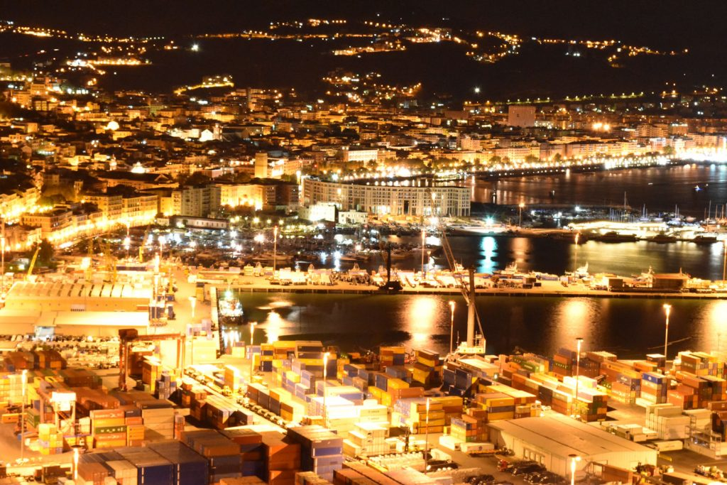 Il puzzle di oggi: Salerno by night