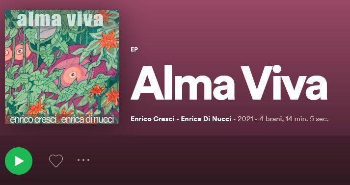 """Samba, bossa nova e baião per l'EP firmato da Enrico Cresci & Enrica Di Nucci """"Alma viva"""""""