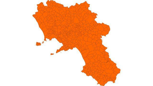 campania arancione - Covid in Italia, Rt a 0.85. Forse Campania in zona arancione