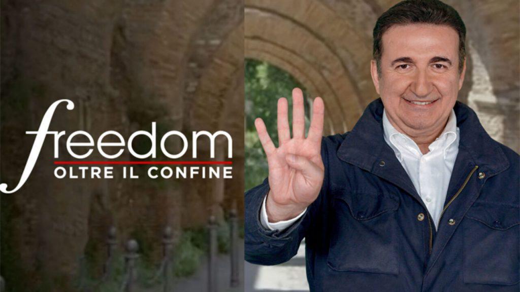 """diretta italia 1 freedom oltre il confine giacobbo 1024x576 - Le Grotte di Pertosa su """"""""Freedom – oltre il confine"""" - Italia 1"""