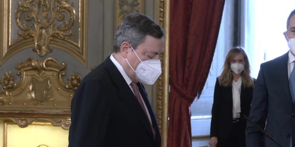 draghi 1024x512 - Conferenza stampa Draghi: zona gialla da 26 aprile - video