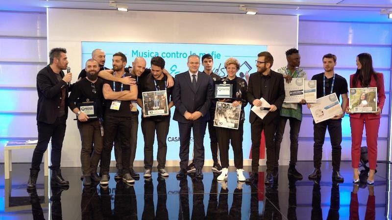 """Il Premio Musica contro le mafie  (Live from Everywhere) a Casa Sanremo per la cerimonia di premiazione """"Words&Awards"""""""