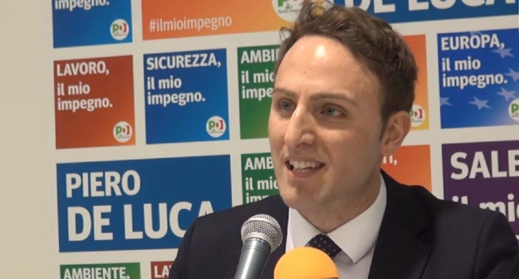 Piero De Luca vicecapogruppo del Partito Democratico alla Camera dei Deputati