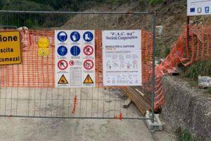 Ancora chiusa la strada Pisciotta-Palinuro