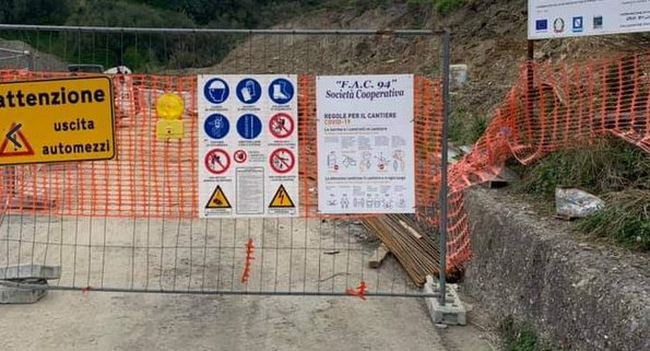 pisciotta - Ancora chiusa la strada Pisciotta-Palinuro