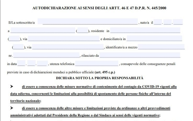 autocertificazione - Cilentano.it ad Ortodonico (una fraz. di Montecorice) - video