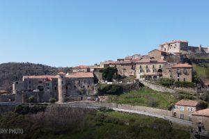 Lustra e Rocca Cilento con il drone – video