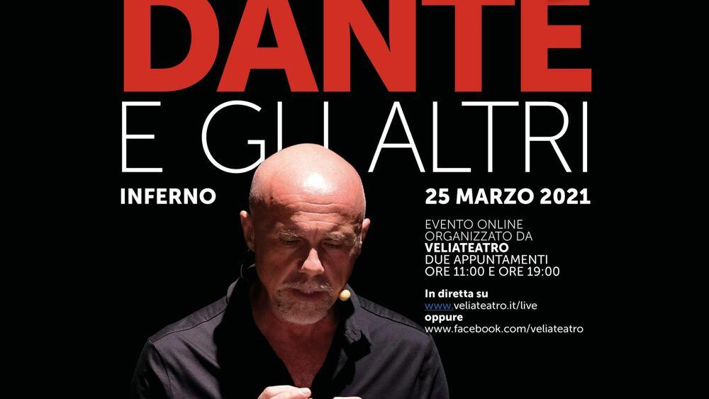 Veliateatro: recital on-line DANTE E GLI ALTRI INFERNO