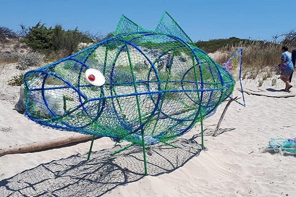 """Sapri, raccolta fondi per il """"pesce mangia plastica"""""""