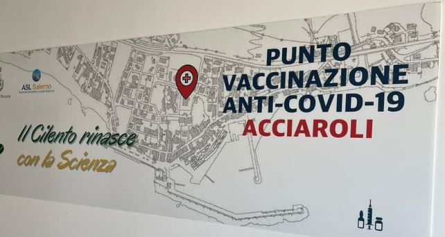 acciaroli - Acciaroli, 90 dosi vaccinali in cinque ore