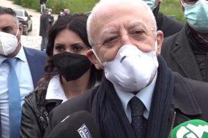De Luca (a Salerno) inaugura Piazza della Liberta' – video integrale