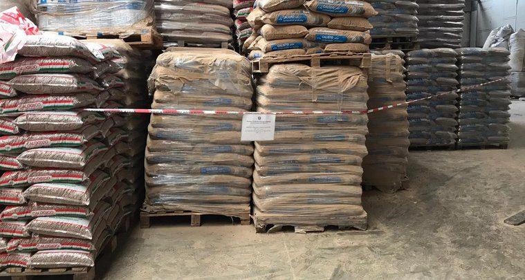 Sicignano: sotto sequestro 15 tonnellate di pellet