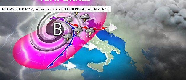 Meteo: In Italia arriva perturbazione, ma non al Sud
