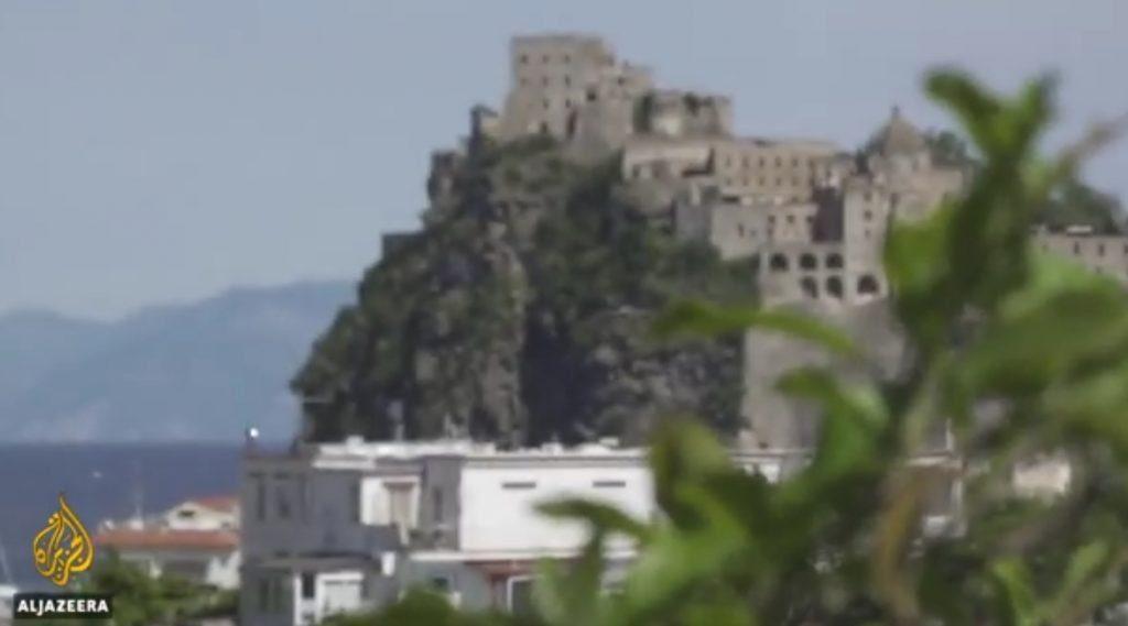 Al-Jazeera dedica un servizio ad Ischia covid free