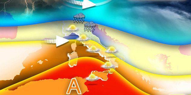 Il meteo.it: instabilita' al nord ma caldo estivo nel mezzogiorno