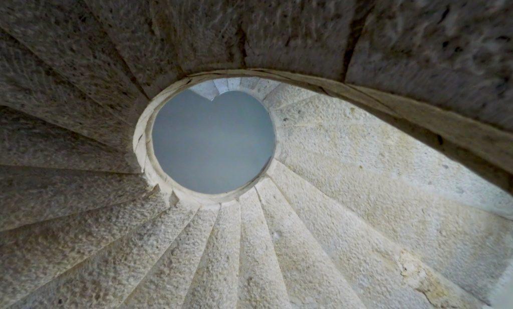 Il puzzle della domenica: Certosa di Padula, la scala elicoidale