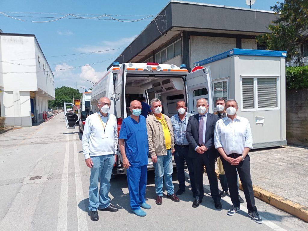 ambulanza polla 1024x769 - Polla, nuova ambulanza per l'ospedale