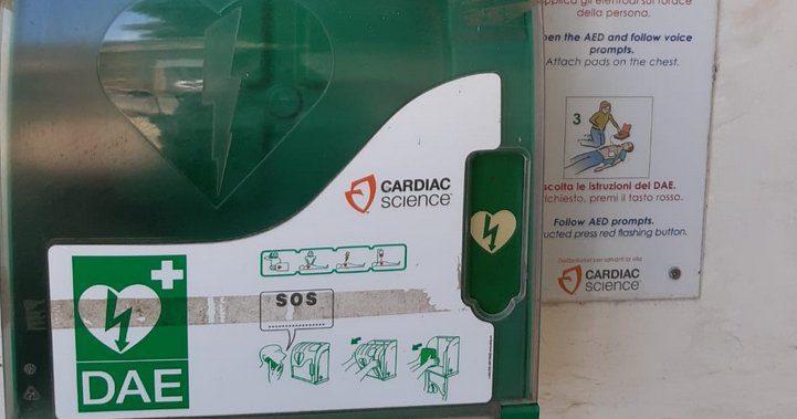 Rubato il defibrillatore ad Altavilla Silentina