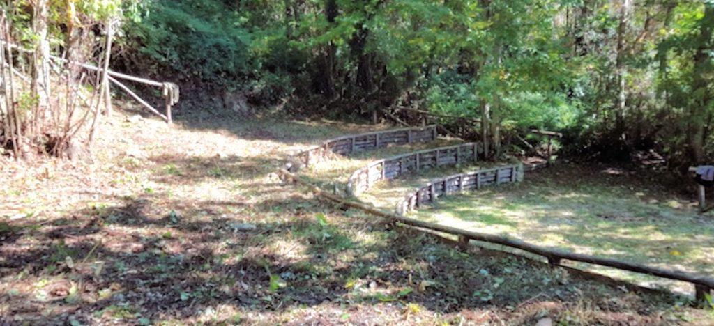 Moio della Civitella, area pic nic vicino all'area archeologica