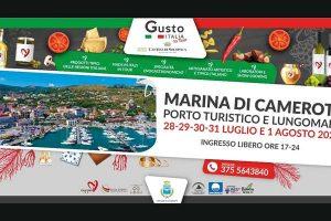 Marina di Camerota, Gusto Italia in tour – fino all'1 agosto 2021