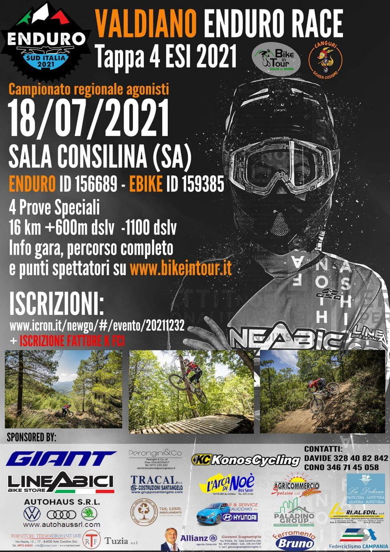 Valdiano Enduro Race 2021 Sala Consilina Cilento Locandina Programma 960x1358 - Sala Consilina, Valdiano Enduro Race - 21/7/21