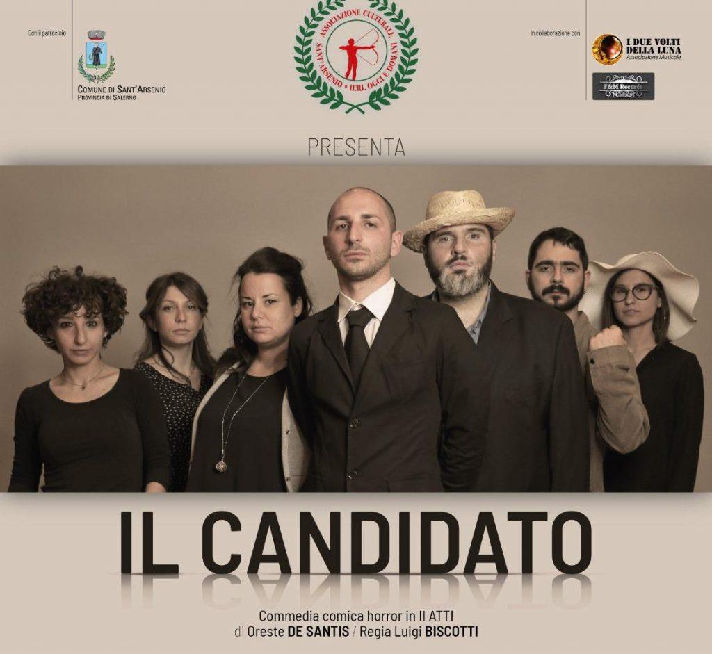 """Sant'Arsenio, torna in scena con """"il candidato"""" la compagnia teatrale Compagnia Teatrale """"Sant'Arsenio, ieri, oggi e domani"""""""