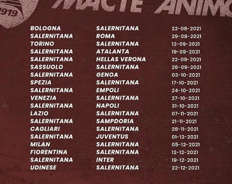 """calendario 960x762 - Lo """"strano"""" caso della Salernitana: il trust, il tempo perso, il ritiro. Il riepilogo, il comunicato di avvio cessione squadra"""