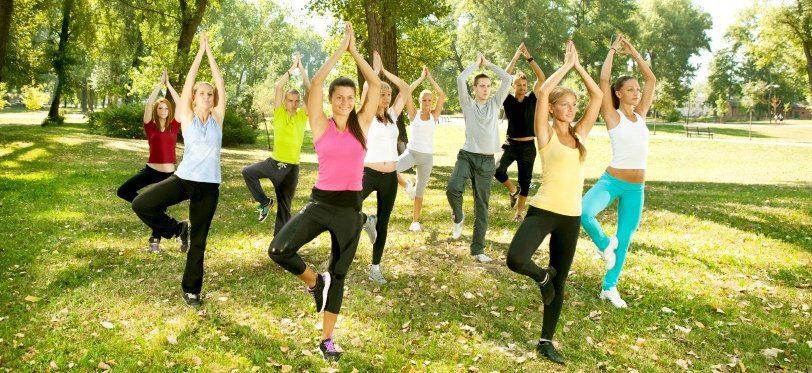 Tortorella, corsi di ginnastica postulare all'aria aperta