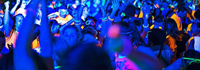 Rave party sul Calore