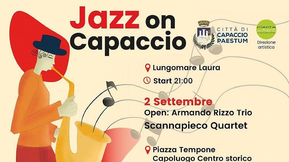 Capaccio, festival della musica jazz dal 2 al 4 settembre